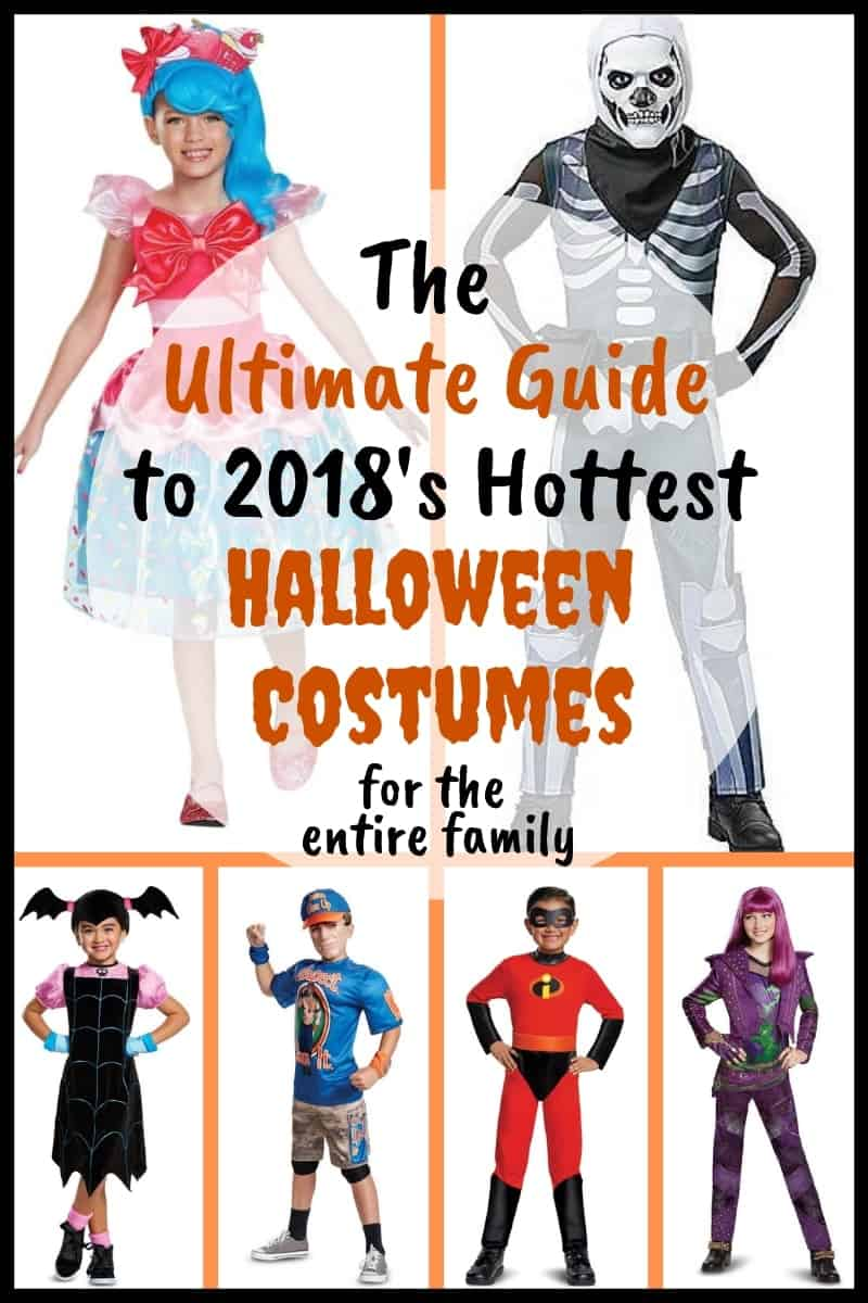 From Minecraft to Hocus Pocus and the Incredibles family these are the most popular Halloween  sc 1 st  Citrus u0026 Stripes & The Ultimate Guide to 2018u0027s Hottest Halloween Costumes for the ...