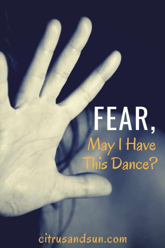 Fear can be paralyzing and mind-numbing, but choosing to take just one initial step and dance with fear can be life-changing in many ways. Fear urges us to use our courage in difficult situations which can ultimately lead to personal growth and self-discovery.