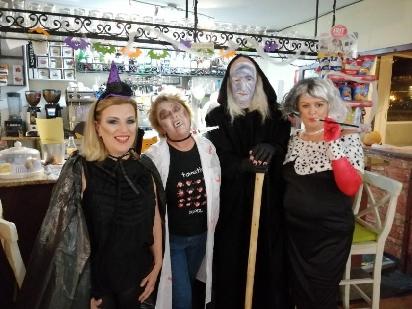 Amanda, Angie, Bob the Hat and Jules