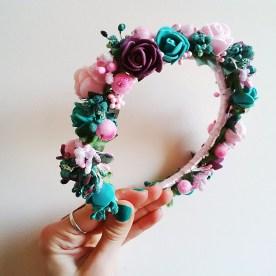 купить венок с цветами на голову