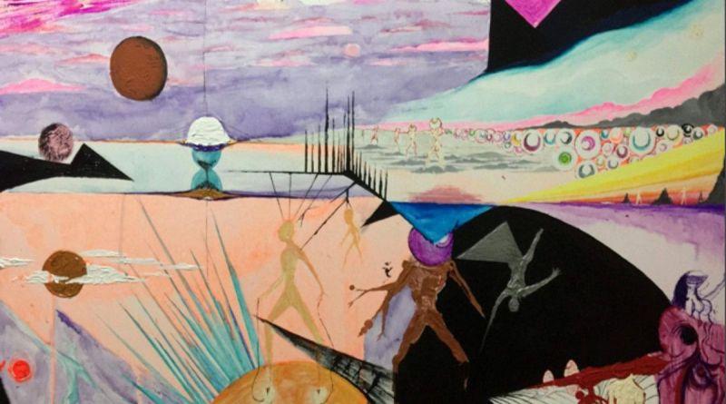 TAMARA - acrilico su tela - cm. 100 x 70