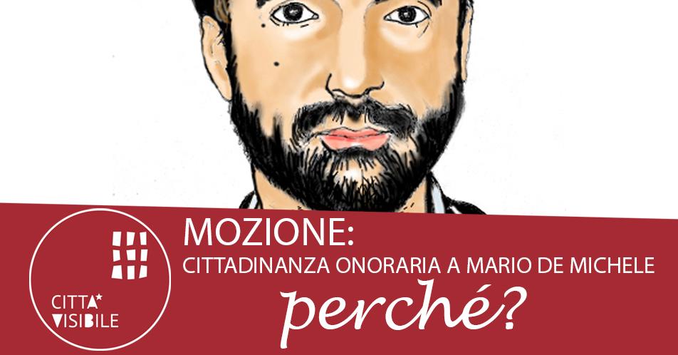 Perché la Cittadinanza a Mario De Michele?