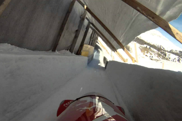 St. Moritz - Celerina Bobsled Run