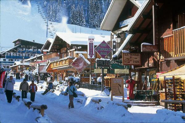 Apres-ski in Morzine