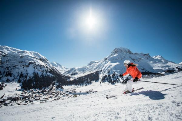 Skiing in Lech am Arlberg