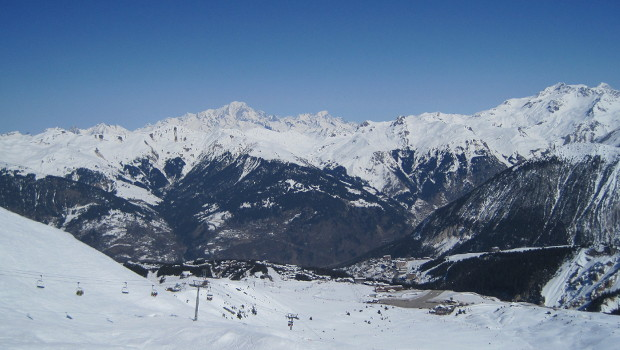 Courchevel French Alps resort ski destination