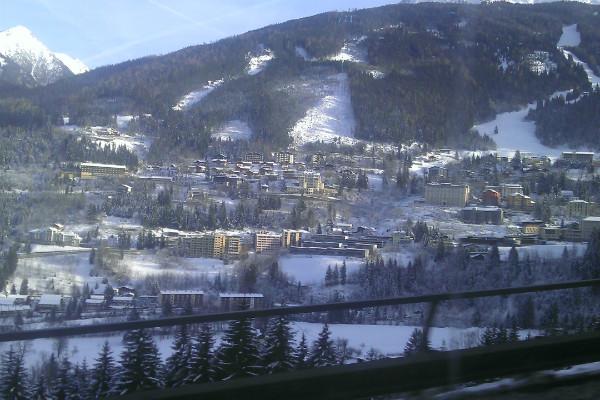 Bad Gastein panoramic view