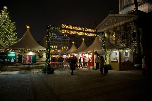 Weihnachts Zauber Christmas Market Berlin