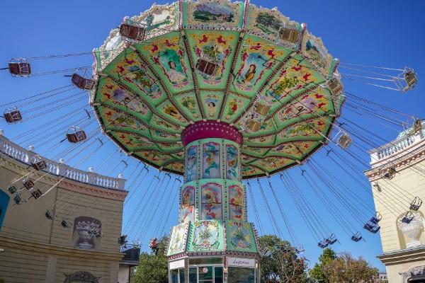 Prater amusement park in Vienna