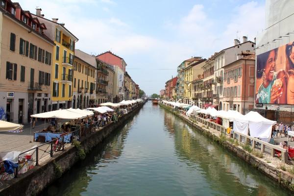 Navigli neighbourhood Milan