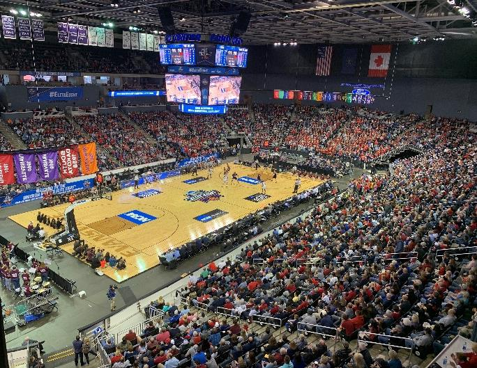 FORD CENTER HOSTS ANOTHER TOURNAMENT WITH RECORD BREAKING CROWDS -  City-County Observer