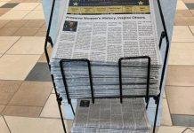 NEWS PAPER RACK