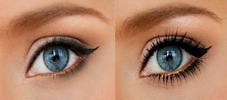 नीली आंखों को पेंट करने के लिए क्या शेड्स