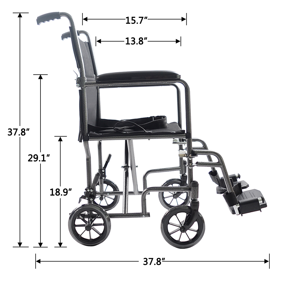 portable wheel chair ebay wing covers 19 folding foldable lightweight wheelchair transport fda approved us