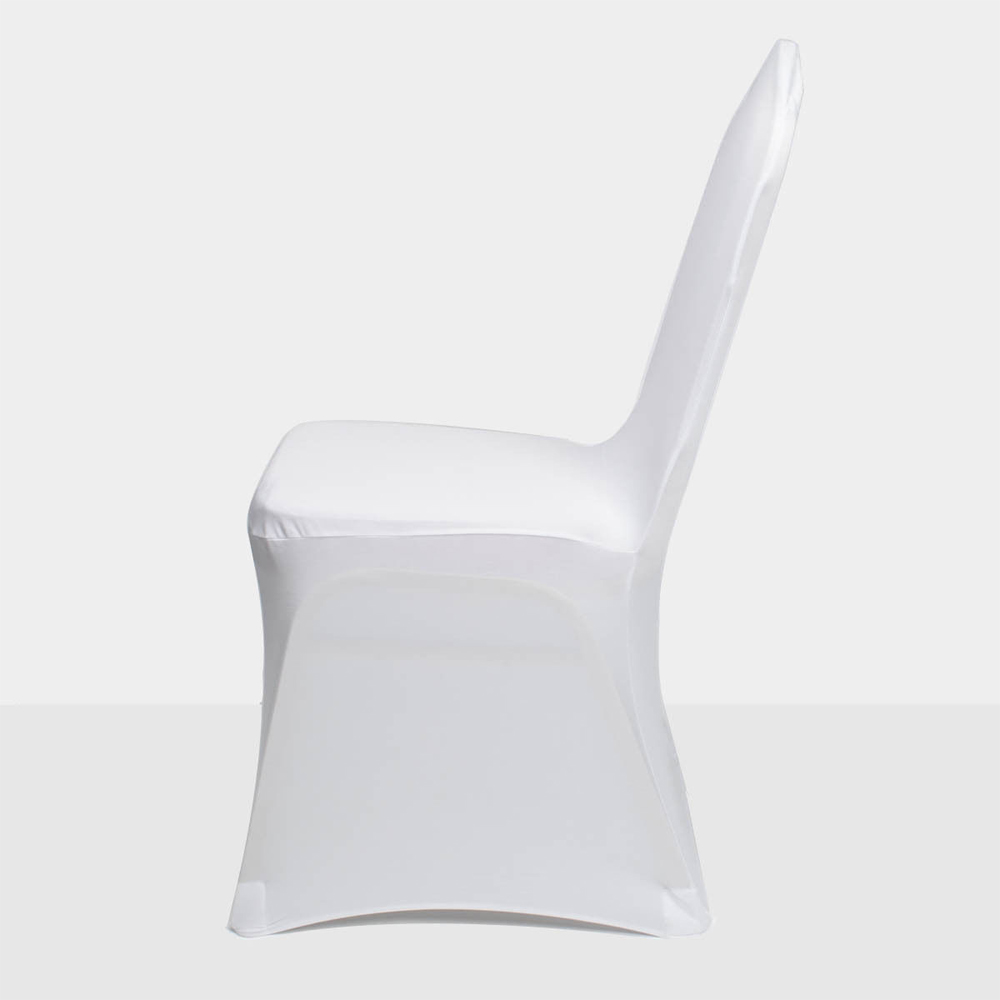 white chair covers cheap swing sam's club 100pcs spandex stretch for wedding party banquet decoration