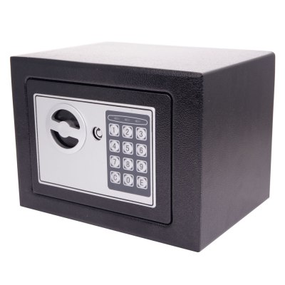 New Small Black Digital Electronic Safe Box Keypad Lock ...