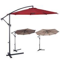 10ft Outdoor Deck Patio Umbrella Offset Tilt Cantilever ...