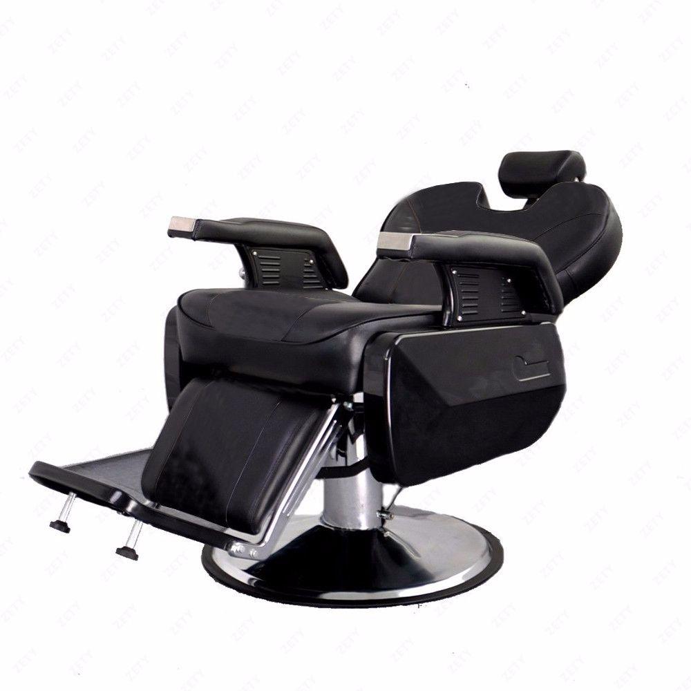 All Purpose Hydraulic Recline Barber Chair Salon Beauty Spa Shampoo Hair Styling  eBay