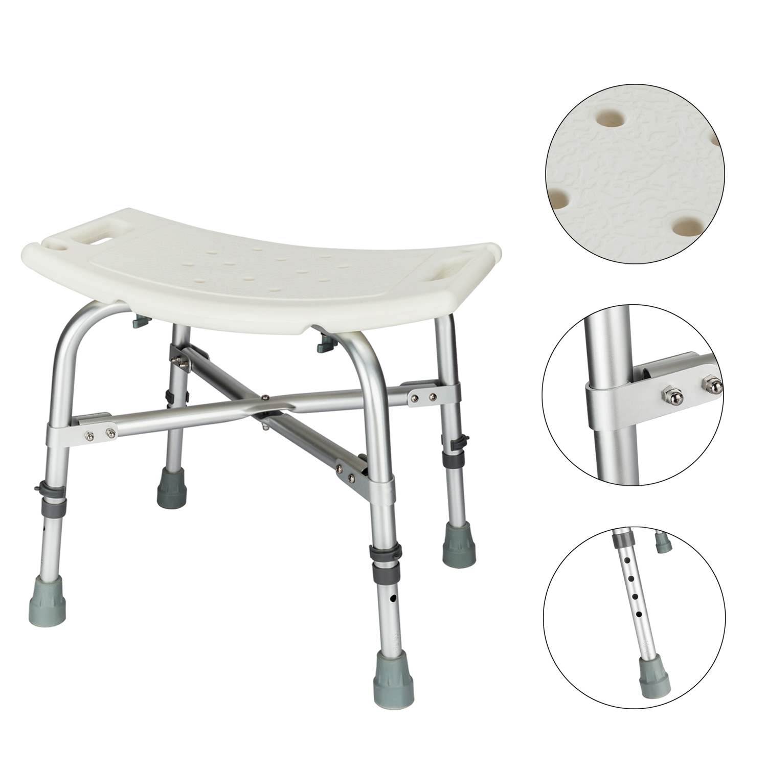 chair without back wooden lounge chairs adjustable medical heavy duty bathtub bath bench