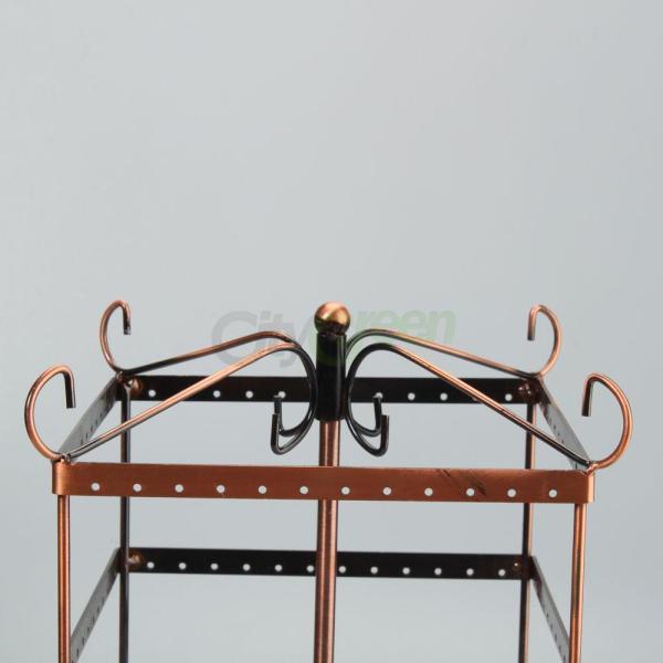 Bronze Earring Holder Display Hanger Girls Rack