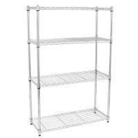 4/5 Tier Storage Rack Organizer Kitchen Shelving Steel ...
