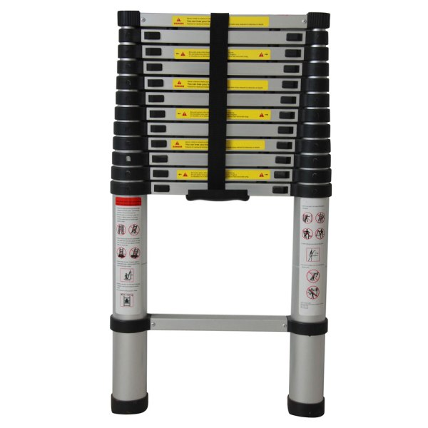10.5 12.5 16.5 Ft Aluminium Multi-purpose Foldable Extension Ladder Telescopic