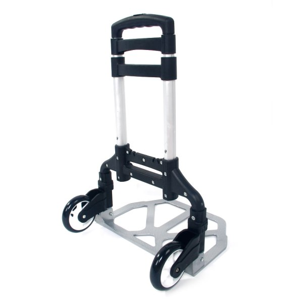 170lbs Cart Folding Dolly Collapsible Trolley Push Hand Truck Moving Warehouse 603047361037