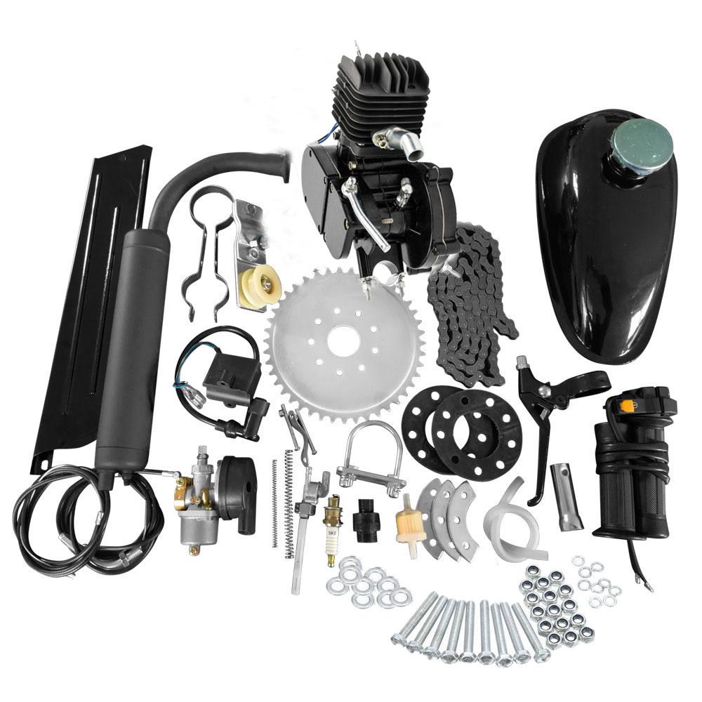medium resolution of full set 80cc bike bicycle motorized 2 stroke petrol gas motor engine kit set