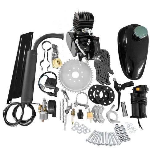 small resolution of full set 80cc bike bicycle motorized 2 stroke petrol gas motor engine kit set