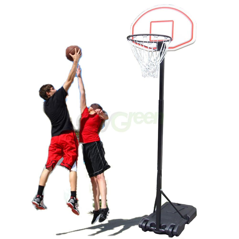 Basketball Hoop Adjustable Backboard Rim System Mini