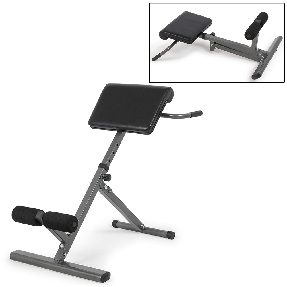 gym quality roman chair directors canvas replacement covers ab bench hyperextension exercise sit up new