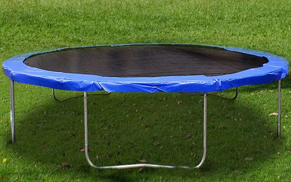 12 Ft Trampoline With Enclosure And Net Withspring Outdoor Jump Exercise