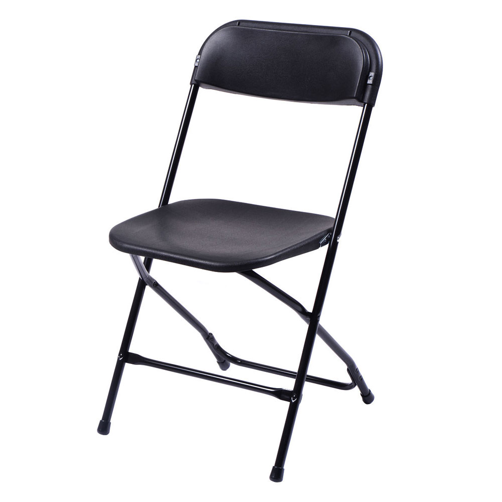 10 Plastic Folding Chairs Wedding Banquet Seat Premium