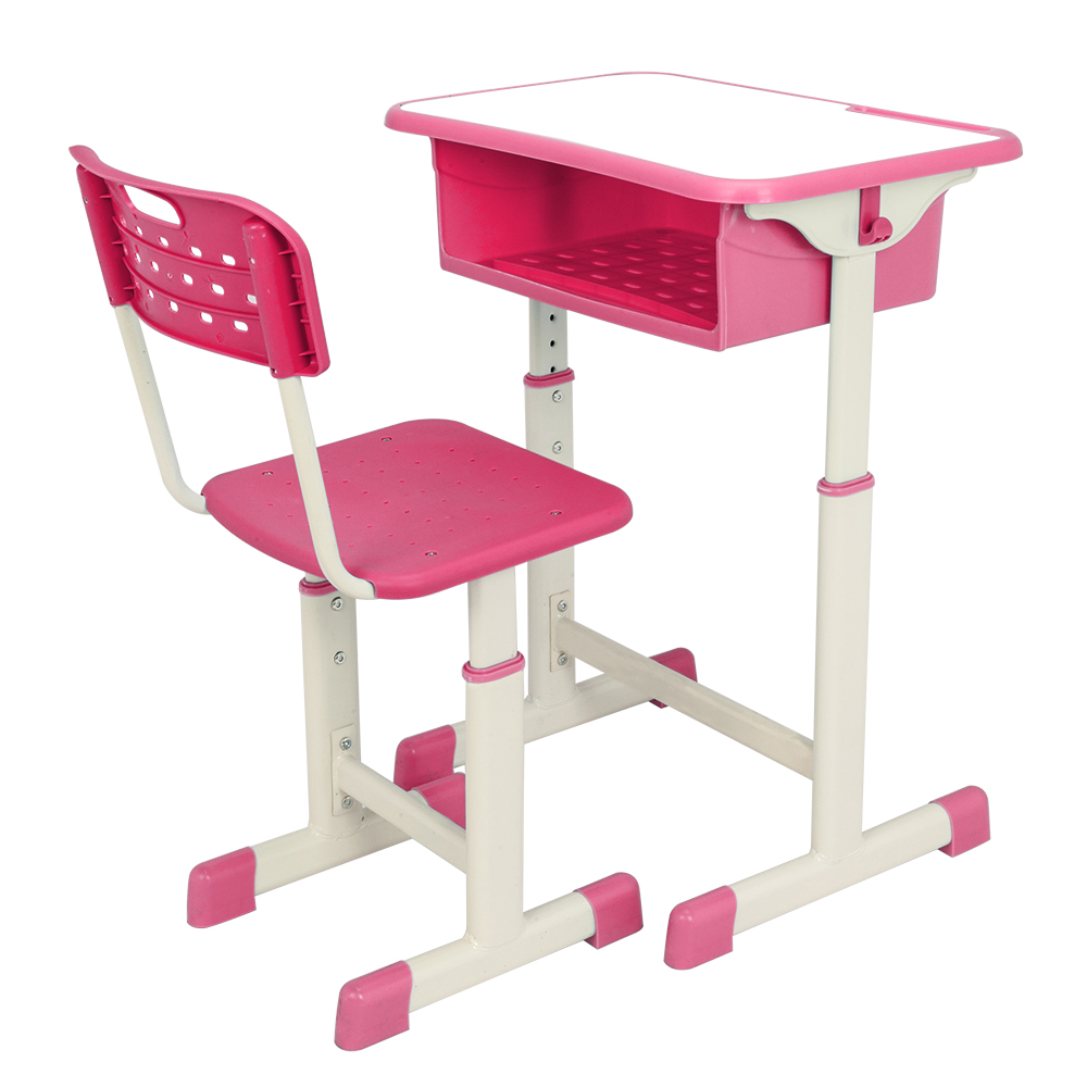 Desk And Chair Set Details About Adjustable Height School Student Desk Chair Set Study Furniture Storage Pink