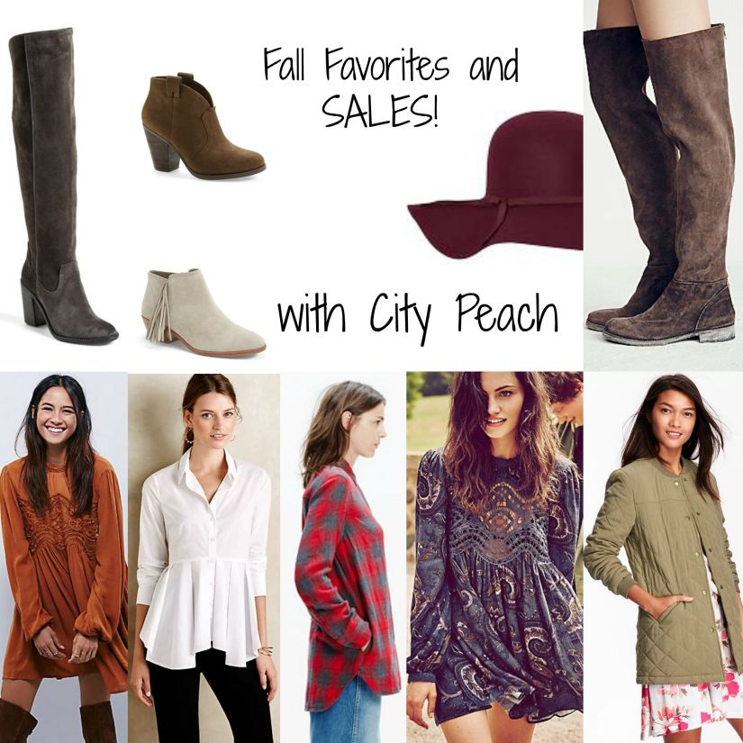 fall favorites collage