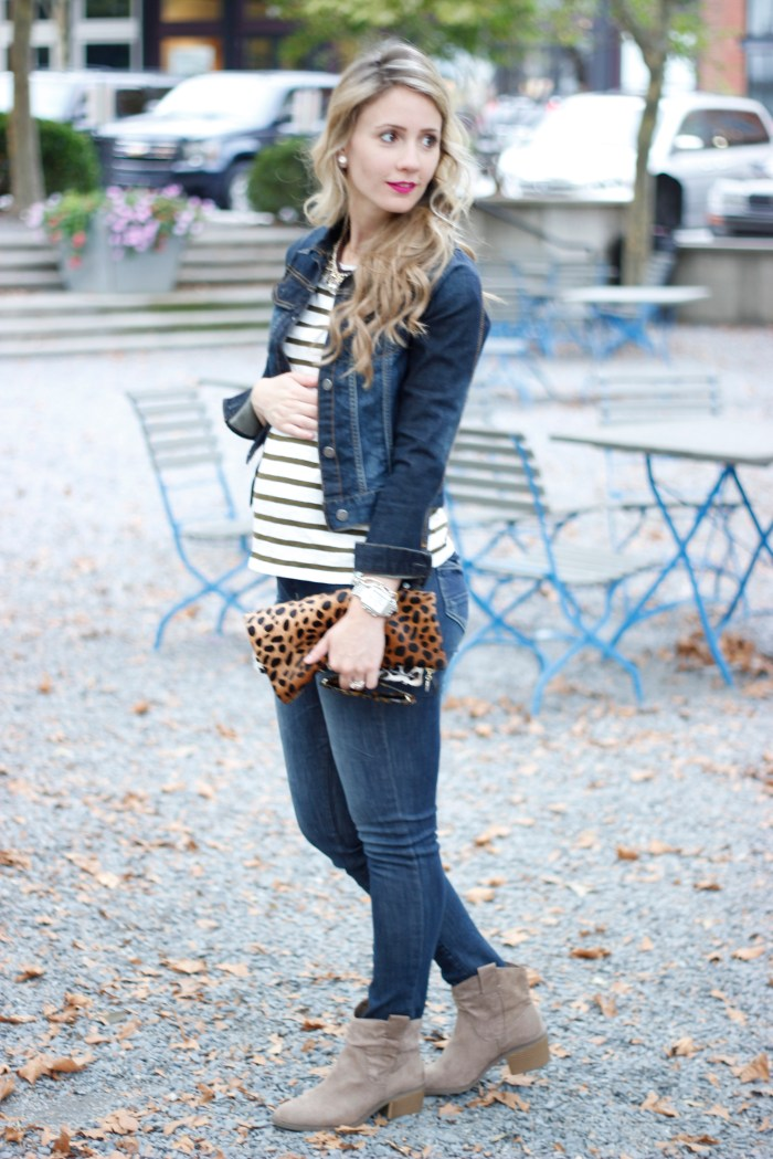 denim-jacket-striped-top-maternity-style