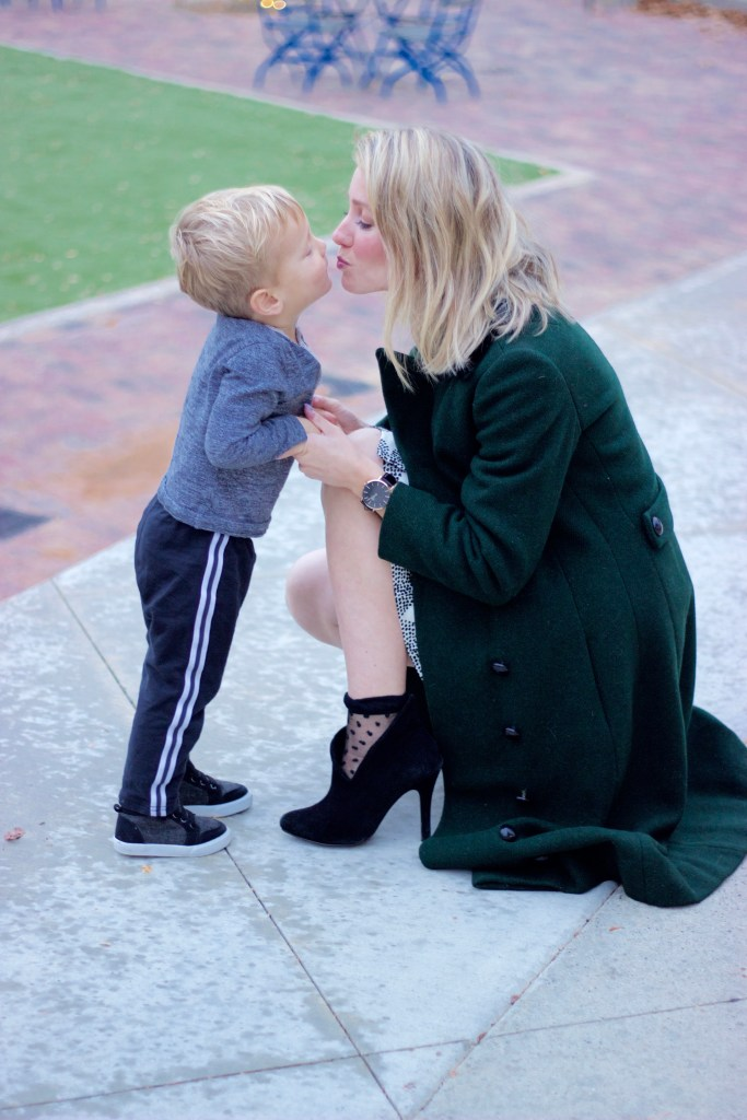 emerald-coat-mother-son-style
