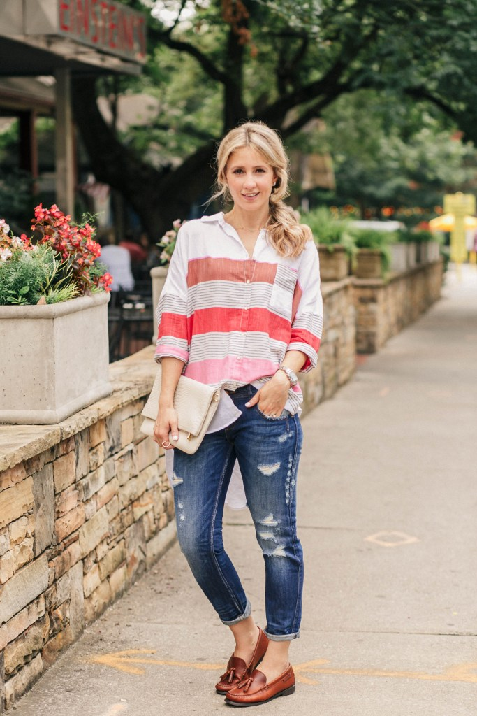 anthropologie-holding-horses-oxford-shirt-loafers-casual-chic-city-peach