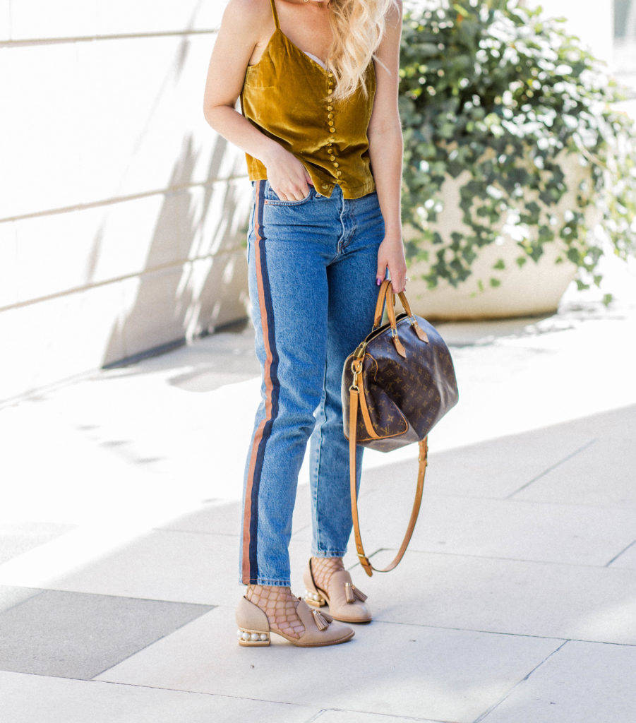 madewell-velvet-cami-tank-ribbon-striped-jeans-city-peach