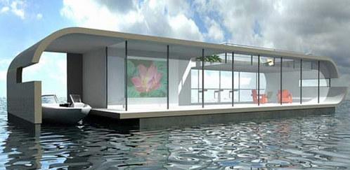 荷蘭漂浮住宅 水漲屋高 - 無臉男的異想世界 - udn部落格