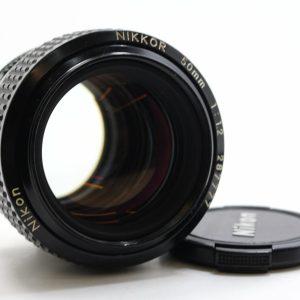 高雄交換二手Nikon AIS 50mm F1.2 手動鏡