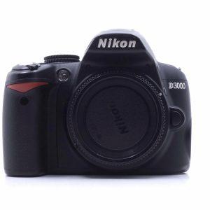 台中青蘋果3c現金收購二手Nikon D3000 單眼相機