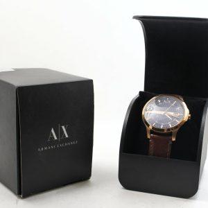 高雄青蘋果3c收購二手ARMANI EXCHANGE 時尚男性手錶