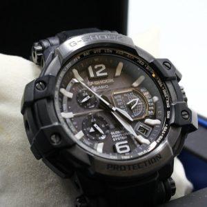高雄左營收購二手CASIO G-SHOCK GPW-1000T-1ADR 碳纖維GPS電波腕錶