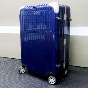 台中青蘋果3c收購二手 RIMOWA LIMBO 深藍 26吋 小型四輪旅行箱 二手 880.63.21.4