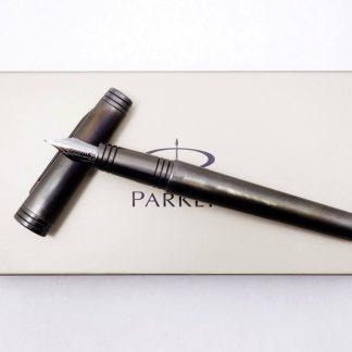 台中青蘋果3c 專業收購二手派克鋼筆 Parker 尊爵黑武士鋼筆