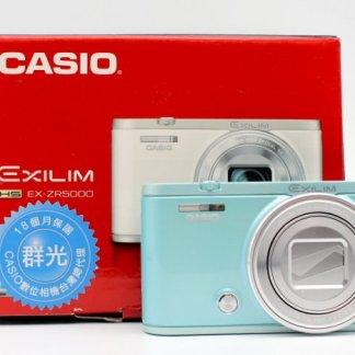 台南橙市3C買賣交換二手CASIO EXILIM EX-ZR5000 ZR5000 美顏相機