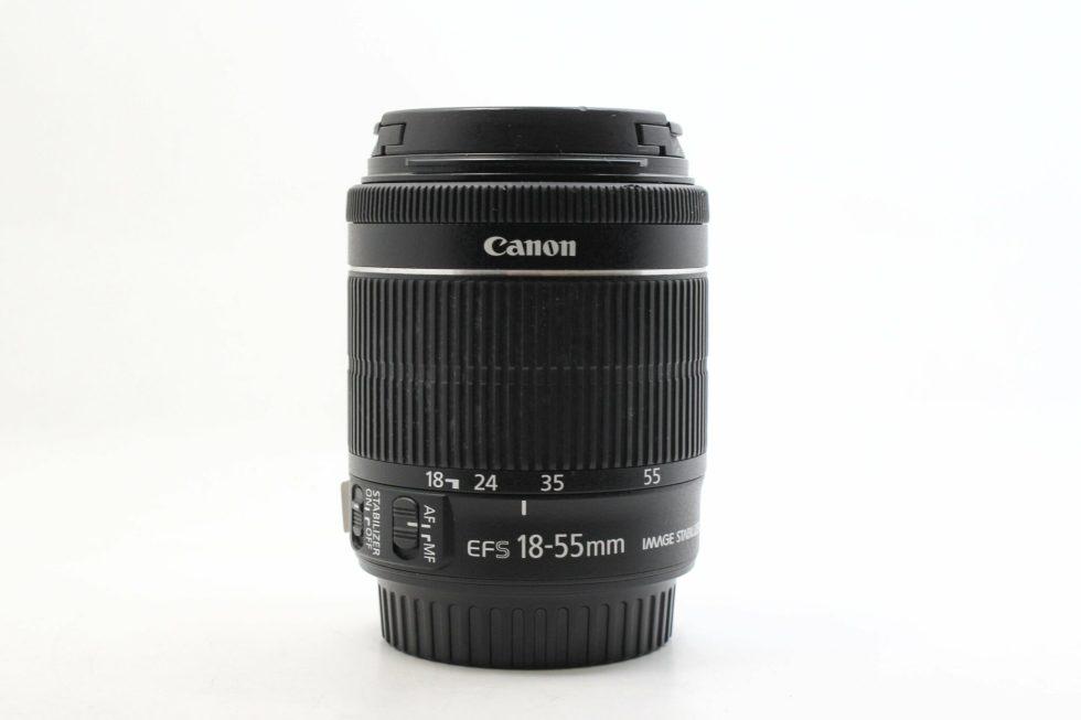 高雄青蘋果3c初學入門二手CANON EF-S 18-55MM F3.5-5.6 STM 標準變焦鏡頭