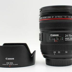 高雄青蘋果3C買賣交流中古Canon EF 24-70mm f4 L IS USM 二手鏡頭