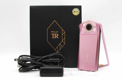 台南橙市3c二手Casio TR80 TR-80 粉 自拍美顏相機 TR專賣店